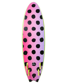 LIME BOARDSPORTS SURF CATCH SURF SOFTBOARDS - ODY66-QLME