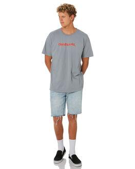 GREY MARLE MENS CLOTHING DEAD KOOKS TEES - DKSSTEE38GRYML