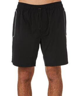 BLACK MENS CLOTHING BARNEY COOLS BOARDSHORTS - 806-PEC1BLK