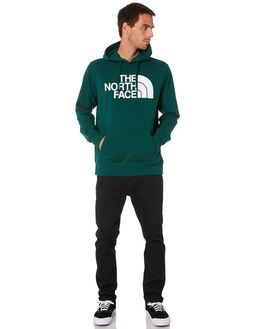 NIGHT GREEN MENS CLOTHING THE NORTH FACE JUMPERS - NF0A3FR1N3P