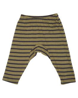 OLIVE BLACK STRIPE KIDS BABY MUNSTER KIDS CLOTHING - MI172PA01OBS