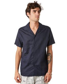 NAVY MENS CLOTHING RHYTHM SHIRTS - JAN20M-WT01-NAV