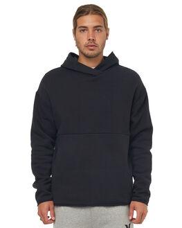 BLACK MENS CLOTHING HURLEY JUMPERS - AH4091010