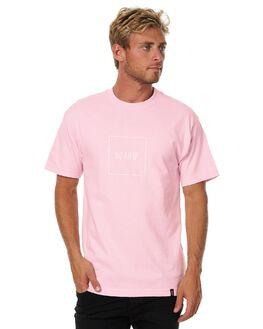 PINK MENS CLOTHING HUF TEES - TS00033PINK