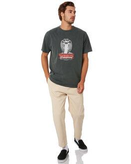 MERCH BLACK MENS CLOTHING THRILLS TEES - TA20-120BMMCBLK