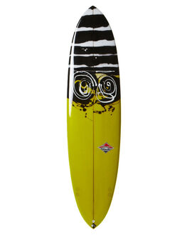 POLISHED TINT ON DECK WITH ARTWORK BOARDSPORTS SURF CLASSIC MALIBU SINGLE FIN - CLACAMELTINAR