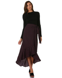 PINK SPOT WOMENS CLOTHING LULU AND ROSE SKIRTS - LU23724SPOT