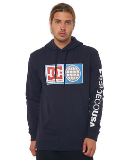 DARK INDIGO MENS CLOTHING DC SHOES JUMPERS - EDYSF03152BYJ0