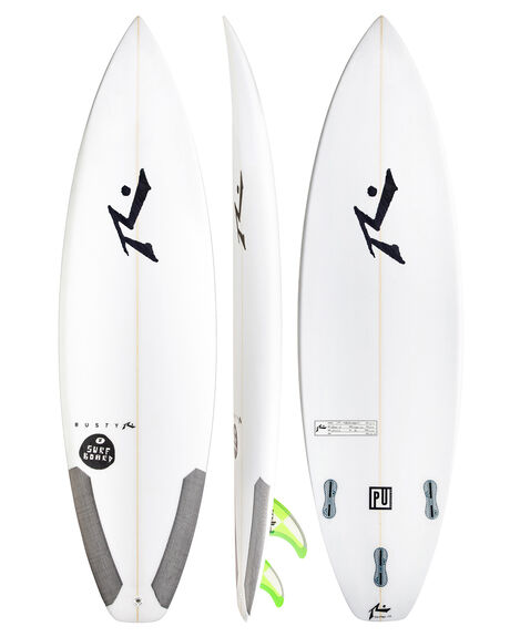 CLEAR BOARDSPORTS SURF RUSTY SURFBOARDS - MOD8CLR