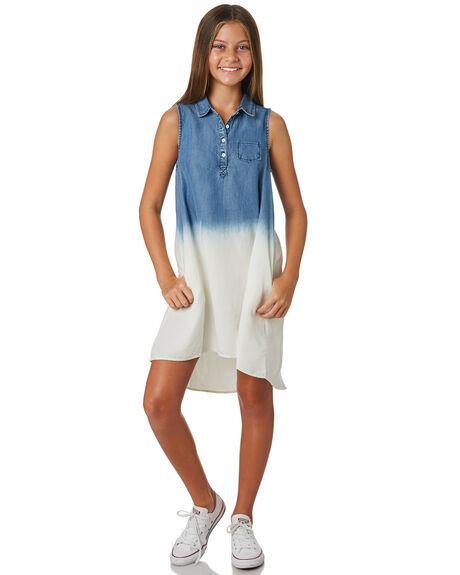 LIGHT BLUE KIDS GIRLS EVES SISTER DRESSES + PLAYSUITS - 9520081BLU