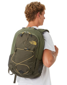 NEW TAUPE GREEN MENS ACCESSORIES THE NORTH FACE BAGS + BACKPACKS - NF00CHJ43NL
