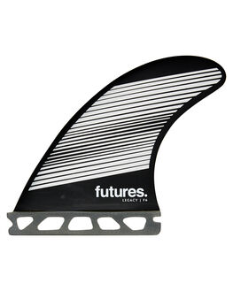 GREY BLACK BOARDSPORTS SURF FUTURE FINS FINS - 1165-160-00GRYBK