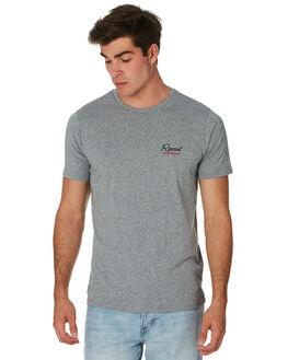 GREY MARLE MENS CLOTHING RIP CURL TEES - CTETT20085