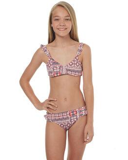 MARSHMALLOW MEXICAN KIDS GIRLS ROXY SWIMWEAR - ERGX203111WBT6