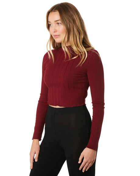 BERRY WOMENS CLOTHING MINKPINK FASHION TOPS - MP1810006BER
