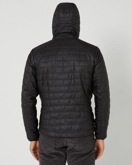 BLACK MENS CLOTHING PATAGONIA JACKETS - 84222BLK