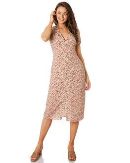 PRINT WOMENS CLOTHING LULU AND ROSE DRESSES - LU23807PT