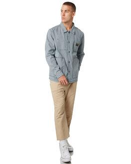 STRIPE MENS CLOTHING STUSSY JACKETS - ST095500STRPE