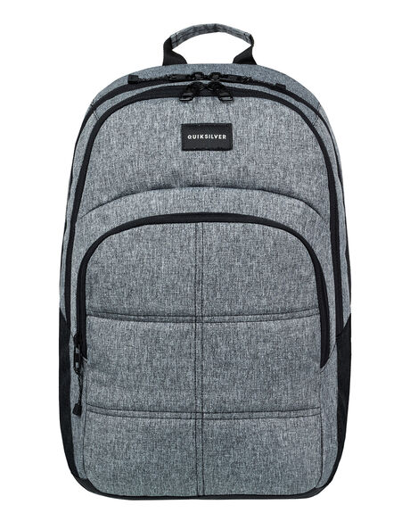 LIGHT GREY HEATHER MENS ACCESSORIES QUIKSILVER BAGS - EQYBP03477SGRH