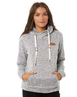LIGHT GREY HEATHER WOMENS CLOTHING RIP CURL JUMPERS - GFEGP1GREY