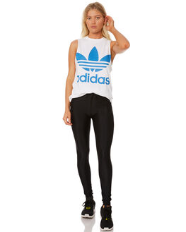 WHITE SUPERBLUE WOMENS CLOTHING ADIDAS ACTIVEWEAR - DH3180001A