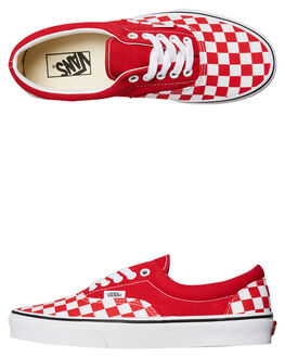 RACING RED WOMENS FOOTWEAR VANS SNEAKERS - SSVNA4BV4S4EW