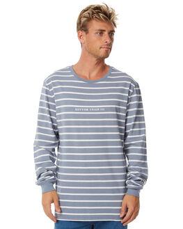 STONE BLUE MENS CLOTHING RHYTHM TEES - APR18M-CT09BLU