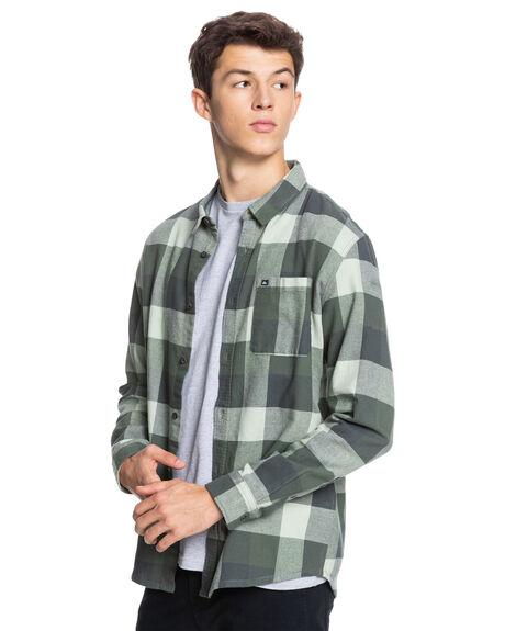 DESERT SAGE MOTHERFL MENS CLOTHING QUIKSILVER SHIRTS - EQYWT04130-GFL1