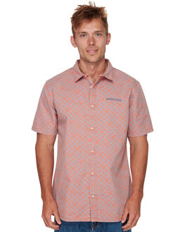 MANDARIN CHECKER MENS CLOTHING QUIKSILVER SHIRTS - EQYWT03759NLK6