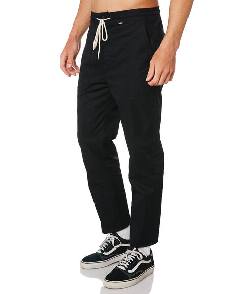 BLACK MENS CLOTHING HURLEY PANTS - AV6291010