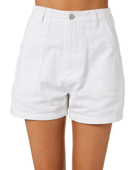 WHITE OUT WOMENS CLOTHING RIDERS BY LEE SHORTS - R551703LL9