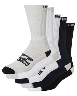 MULTI MENS CLOTHING BILLABONG SOCKS + UNDERWEAR - 9681601MUL