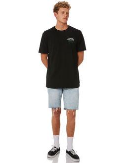 BLACK MENS CLOTHING DEPACTUS TEES - D5202004BLACK