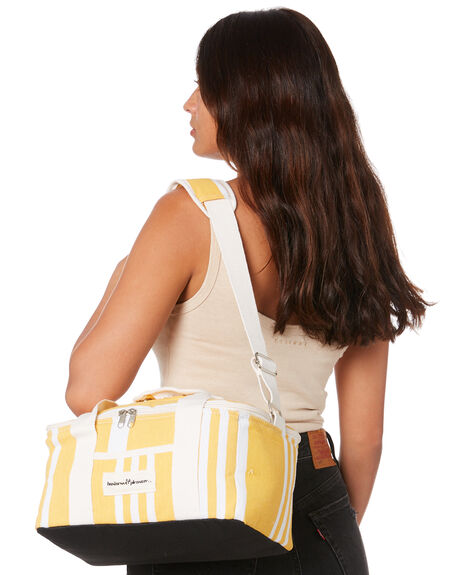 YELLOW STRIPE WOMENS ACCESSORIES BUSINESS AND PLEASURE CO BAGS + BACKPACKS - PROMOBAP-HO-001VTYEL