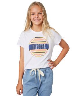 WHITE KIDS GIRLS RIP CURL TOPS - JTEDU11000