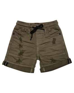 KHAKI KIDS TODDLER BOYS ST GOLIATH SHORTS - 2821004KHAK