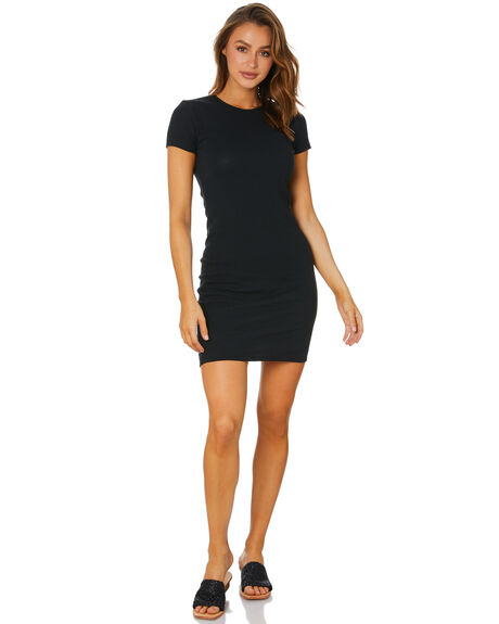 BLACK WOMENS CLOTHING SILENT THEORY DRESSES - 6063036BLK