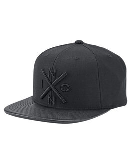 ALL BLACK MENS ACCESSORIES NIXON HEADWEAR - C20661147