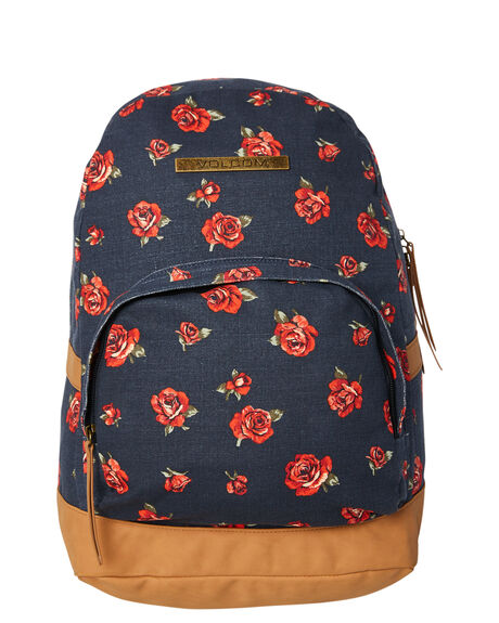e475378f54c2 Volcom Vacations Canvas Backpack - Navy