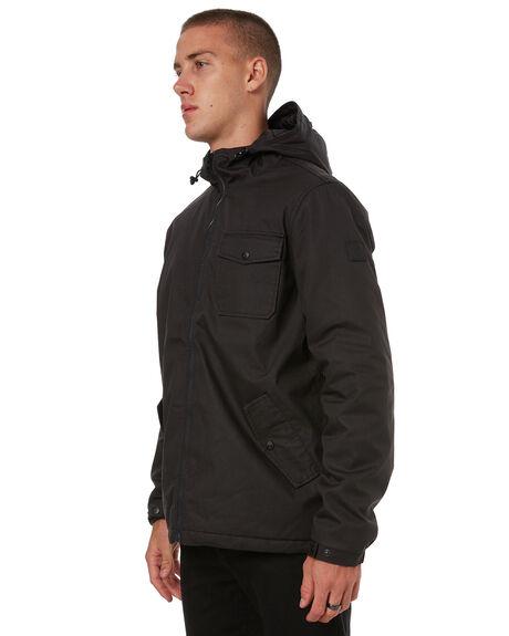 FLINT BLACK MENS CLOTHING ELEMENT JACKETS - 176459FBLK