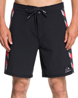 BLACK MENS CLOTHING QUIKSILVER BOARDSHORTS - EQYBS04069KVJ6