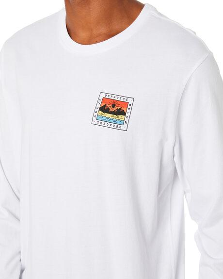 WHITE MENS CLOTHING DEPACTUS TEES - D5204100WHITE