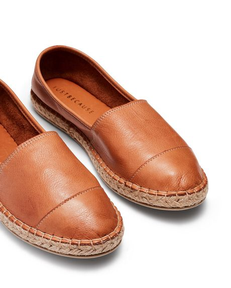 TAN WOMENS FOOTWEAR JUST BECAUSE SNEAKERS - 21568TAN