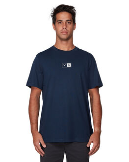 NAVY MARINE MENS CLOTHING RVCA TEES - RV-R107042-MYV