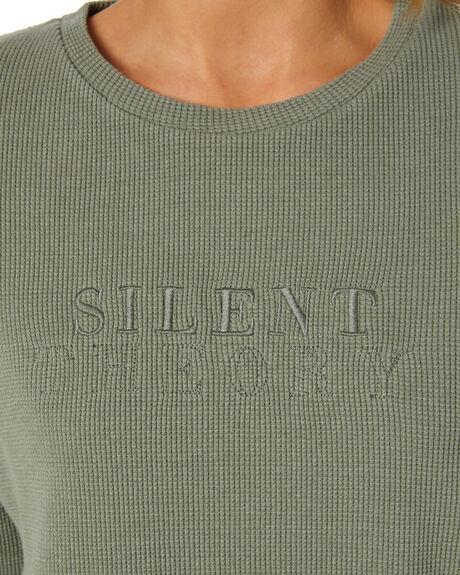 KHAKI WOMENS CLOTHING SILENT THEORY JUMPERS - 6074006KHAK