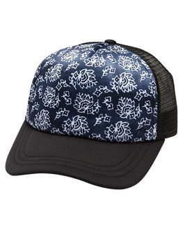NAVY BLUE WOMENS ACCESSORIES RUSTY HEADWEAR - HCL0325NVB