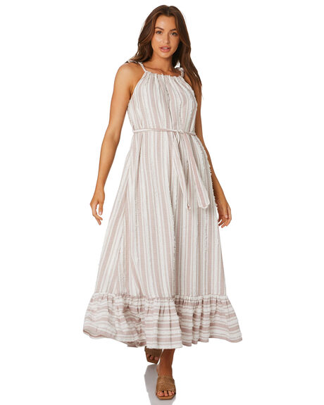NATURAL WOMENS CLOTHING TIGERLILY DRESSES - T305410NAT