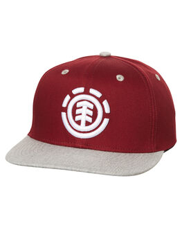 CARDINAL RED KIDS BOYS ELEMENT HEADWEAR - 373612CRED