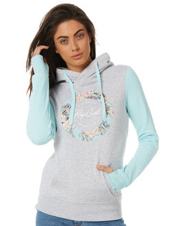 LIGHT GREY HEATHER WOMENS CLOTHING RIP CURL JUMPERS - GFEGZ13233