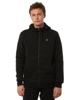 BLACK MENS CLOTHING VOLCOM JUMPERS - A5831700BLK